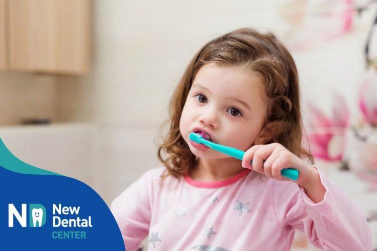 Consigli igiene orale dei bambini